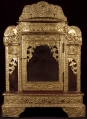Antique wooden Buddha shrine from Burma made from Wood