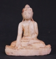 Antique Mandalay Buddha statue from Burma made from Marble